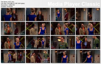 Kaley Cuoco | Big Bang Theory s06e15 | 720p