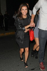 Eva Longoria - at Bootsy Bellows in West Hollywood 3/16/13