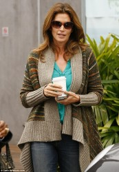 Cindy Crawford - out in Malibu 3/17/13