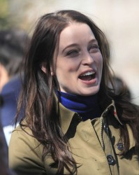 Rachel Nichols - on the set of 'Continuum' in Vancouver 3/18/13