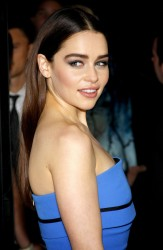 Emilia Clarke - Game of Thrones Season 3 premiere in Hollywood 3/18/13