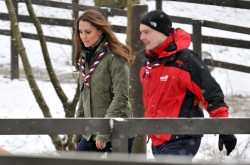 Catherine, Duchess of Cambridge - at the Great Tower Scout Camp in Cumbria 3/22/13