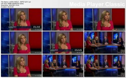 LAURA INGLE cleavage - fox news live - september 27, 2011
