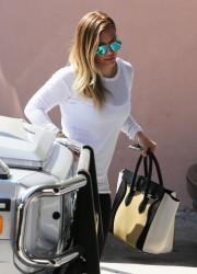 Hilary Duff - out in Studio City 3/26/13