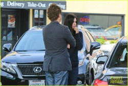 Courteney Cox - at the Ivy restaurant in Santa Monica 3/25/13
