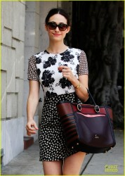 Emmy Rossum - out in West Hollywood 3/29/13