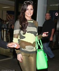 Cheryl Cole - at LAX Airport 3/25/13