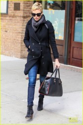 Charlize Theron - out in NYC 4/2/13