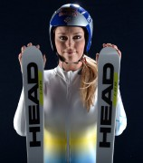 Skiing: LINDSEY VONN (USA) Olympic 2014 Media Summit Shoot [4 MQ]