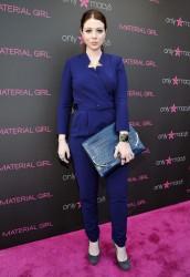 Michelle Trachtenberg - Madonna pop-up exhibit in Century City 4/25/13