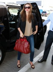 Miranda Kerr - at LAX Airport 4/26/13