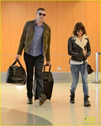 Lea Michele - at LAX Airport 4/26/13