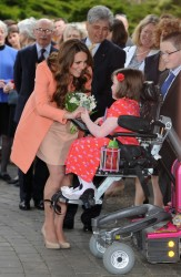 Catherine, Duchess of Cambridge - at Naomi House in Hampshire 4/29/13