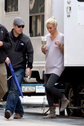 Cameron Diaz - on the set of 'The Other Woman' in NYC 4/30/13