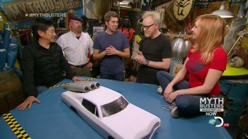 Kari Byron - Mythbusters Jato 3 Car - HDcaps - 1/5/13