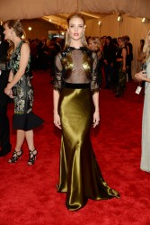 Rosie Huntington-Whiteley - 2013 Met Gala in NYC 5/6/13