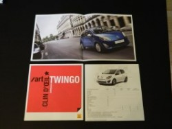 Brochures Twingo 1 et 2 au profit de l'association 65f758253987321