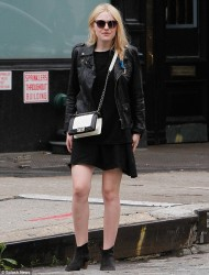 Dakota Fanning - out in NYC 5/11/13