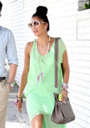 Nicole Scherzinger at Chateau Marmont in West Hollywood on May 4, 2013