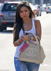 Brenda Song - out in LA 5/12/13