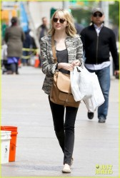 Emma Stone - out in NYC 5/13/13