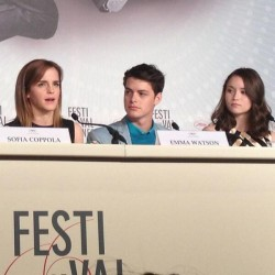 *Adds* Emma Watson Press conference May 16th