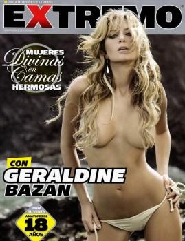 Geraldine Bazan revista H Extremo Mexico