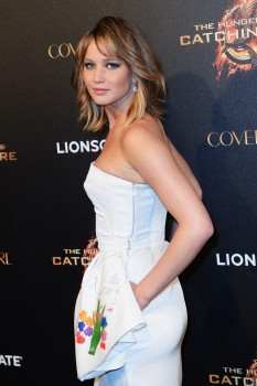 Jennifer Lawrence The Hunger Games Catching Fire Party 3