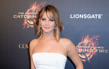 Jennifer Lawrence The Hunger Games Catching Fire Party 21