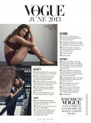 Robyn Lawley - Vogue Australia - June 2013 (x5)