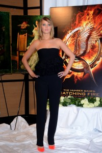 Jennifer Lawrence The Hunger Games Catching Fire Photocall 20