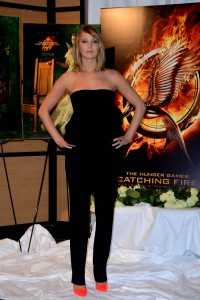 Jennifer Lawrence The Hunger Games Catching Fire Photocall 19