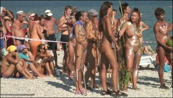 Hunters sex beach nude