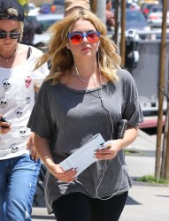 Ashley Benson - Leaving Urth Cafe 5/21/13