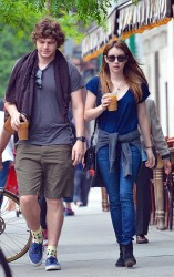 Emma Roberts - out in NYC 5/22/13