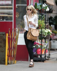 Emma Stone - out in NYC 5/23/13
