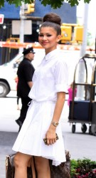 Zendaya Coleman - at her hotel in NYC 5/23/13
