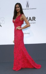 Irina Shayk - amfAR's 20th Annual Cinema Against AIDS Event in France 5/23/13