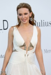 Kylie Minogue - amFAR's Cinema Against AIDS event in Antibes 5/23/13