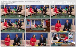 ERICA HILL legs - cbs early show - june 19, 2010