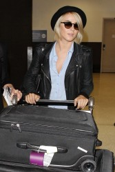 Julianne Hough - at LAX Airport 5/25/13