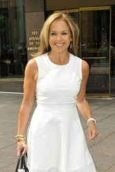 Katie Couric - out in NYC 5/28/13