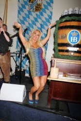 Nicole Coco Austin -at Hofbrauhaus in Las Vegas 5/31/13