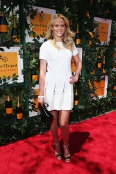 Anne V - 6th Annual Veuve Clicquot Polo Classic in Jersey City 6/1/13