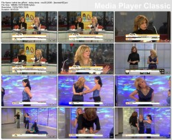KATHIE LEE GIFFORD cleavage - today show - november 25, 2009