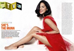 Olivia Munn x1 Entertainment Weekly Summer Double Issue 2013