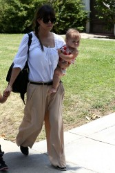 Kourtney Kardashian - Going to a birthday party in Beverly Hills 6/8/13