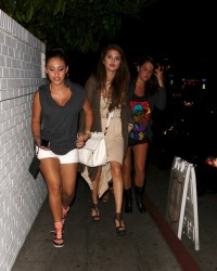 Selena Gomez & Francia Raisa - Arriving to Chateau Marmont in LA 6/7/13