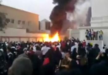 Kantor KJRI Jeddah Dibakar