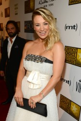 Kaley Cuoco - 3rd Annual Critics' Choice Television Awards in LA 6/10/13